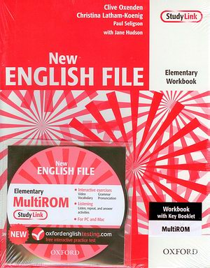 New ENGLISH FILE Elementary Workbook +MultiROM Pk