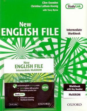 New ENGLISH FILE Inter Workbook + MultiROM pack