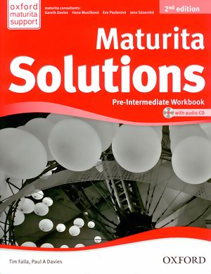 Maturita Solutions 2E Pre-Inter WB with CD CZ