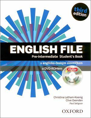 English File 3E Pre-Intermediate SB with iTutor CZ