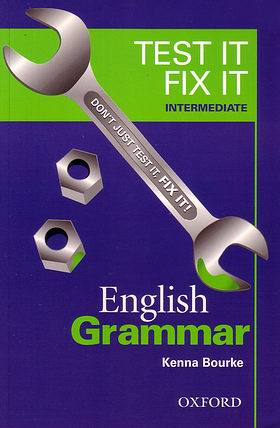 Test if fix it Englissh Grammar Intermediate