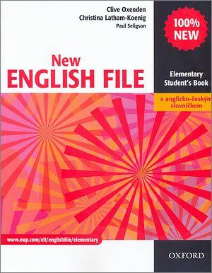 New ENGLISH FILE Elementary Studenťs Book CZ Ed.