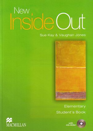 New Inside Out Elementary Studenťs Book + CD-ROM