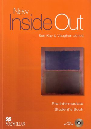 New Inside Out Pre-Inter Studenťs Book Books+CD