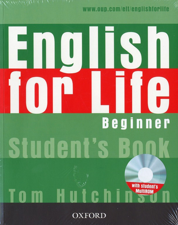 English for Life Beginner Students Book+MultiROM