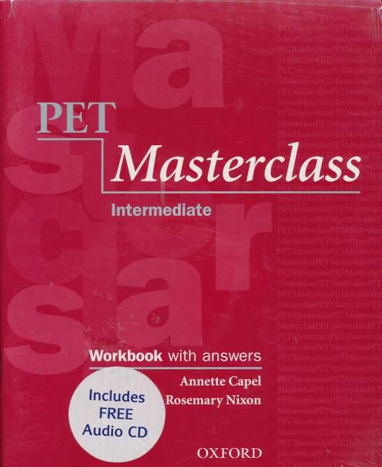 PET Masterclass intermediate WB with key+CD