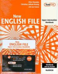 New ENGLISH FILE Upper-Intermediate Workbook + MultiROM